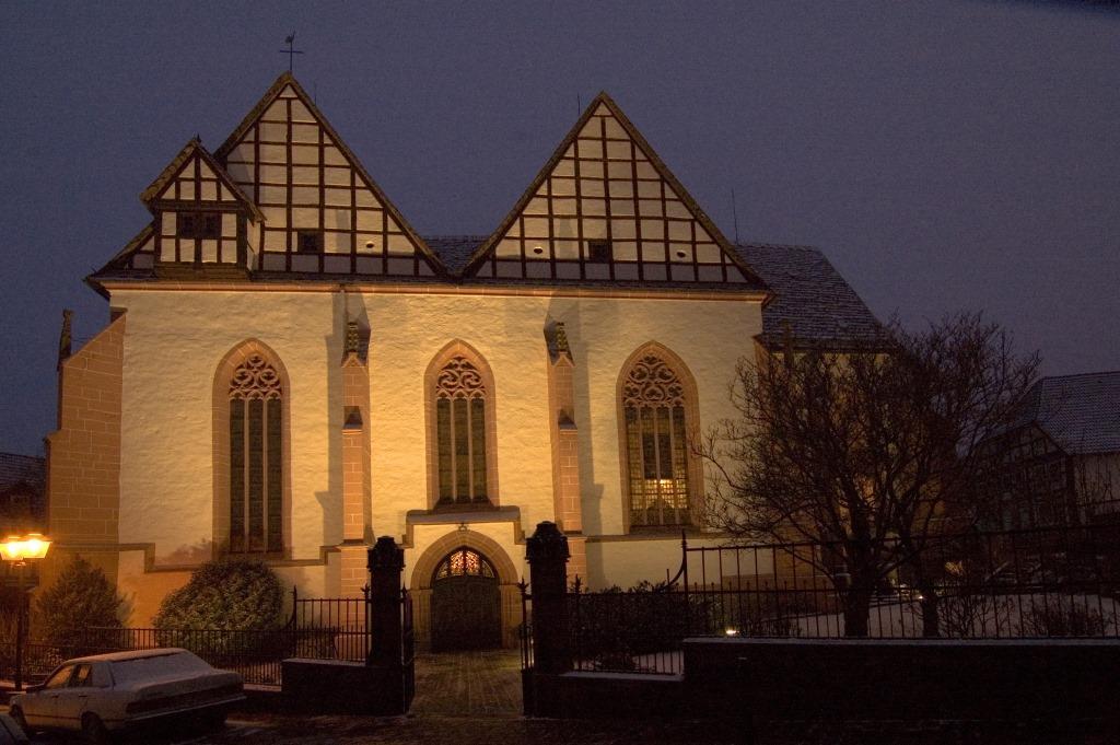 Klosterkirche_beleuchtet_Rüdiger Haase